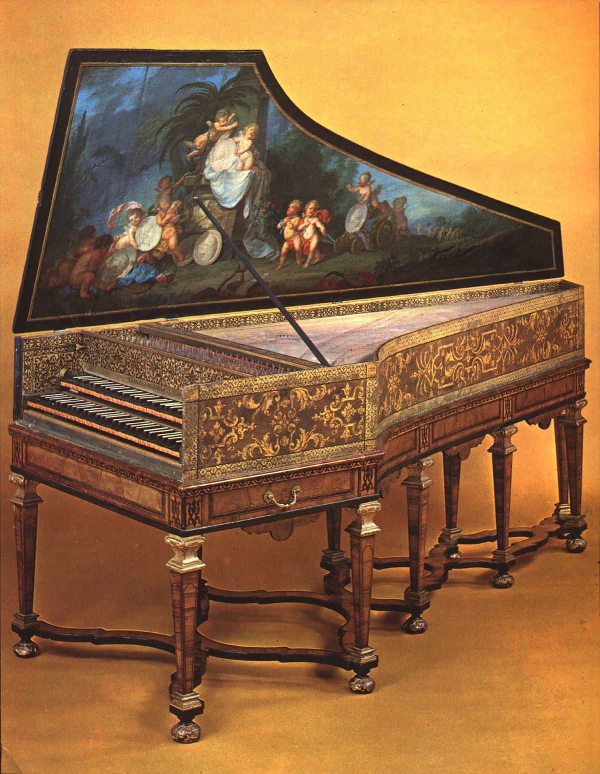 Donzelague (harpsichord makers) - Wikipedia