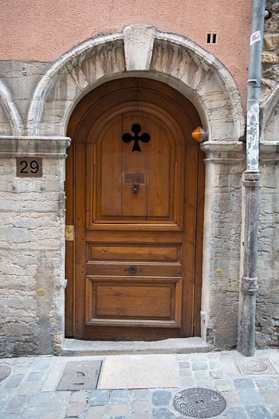 Doors of Lyon, France 8.jpg