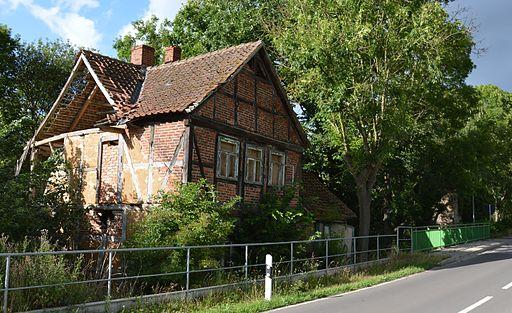Dorfstraße (Groß Bartensleben) Mühle Blick von süd