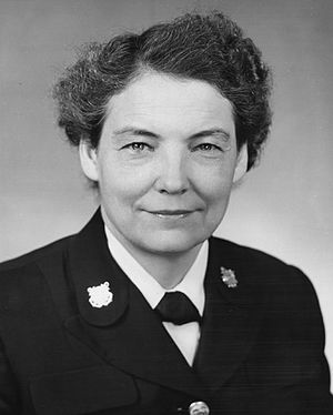 SPARS - Captain Dorothy C. Stratton, Director of the SPARS during World War II