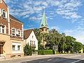 Dortmund, straatzicht met Katharinenkirche foto4 2012-08-04 10.42.jpg