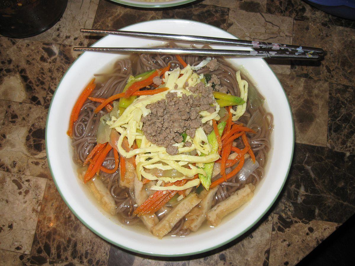 acorn noodle soup