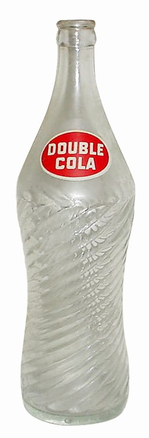 Double Cola - Double Cola can, 1980s–90s era