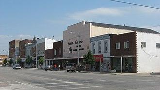 Wauseon, Ohio - Buildings in downtown Wauseon