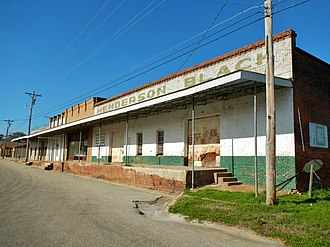 Dozier, Alabama - Dozier in 2012