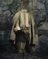 Dräkt, bestående av tröja, byxor och kappa, tillhörande Karl X Gustav - Livrustkammaren - 56606.tif