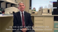 চিত্র:Dr Anthony Fauci-America's Man on Infectious Diseases-VoA.webm