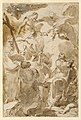 Drawing, The Trinity and the Apostles, St. Peter and St. Paul, 1770–80 (CH 18543335-2).jpg