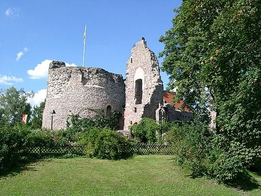 Dreieich Dreieichenhain Burg 20070823