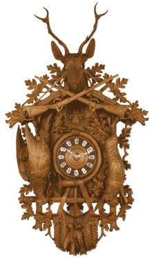 c9897a8f8d33 Reloj de cuco - Wikipedia