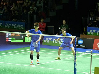 Li Yinhui Badminton player
