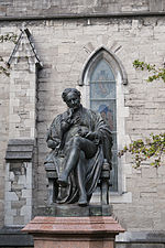 Dublin St. Patrick's Cathedral Statue of Sir Benjamin Lee Guinness 2012 09 26.jpg