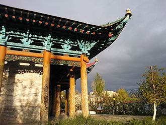 Dungan people - Dungan mosque in Karakol, Kyrgyzstan