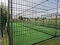 Dunmow Cricket Club cricket practice nets, Great Dunmow, Essex, England 02.jpg