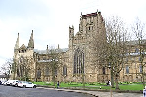 Durham Cathedral - Durham Cathedral from the north