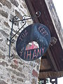 Dwelling house and restaurant. Listed ID 10475. Sign. - Batthyány street, Tihany.JPG