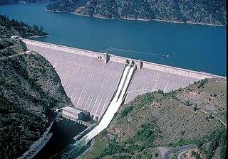 Dworshak Dam Dam in Clearwater County, Idaho