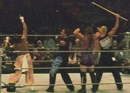 Sabu, Tommy Dreamer, Rob Van Dam en The Sandman