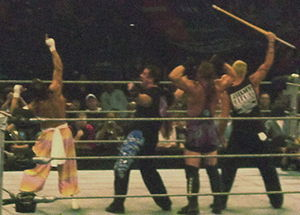 The ECW Originals - The ECW Originals (from left to right: Sabu, Dreamer, RVD and Sandman) in 2007.