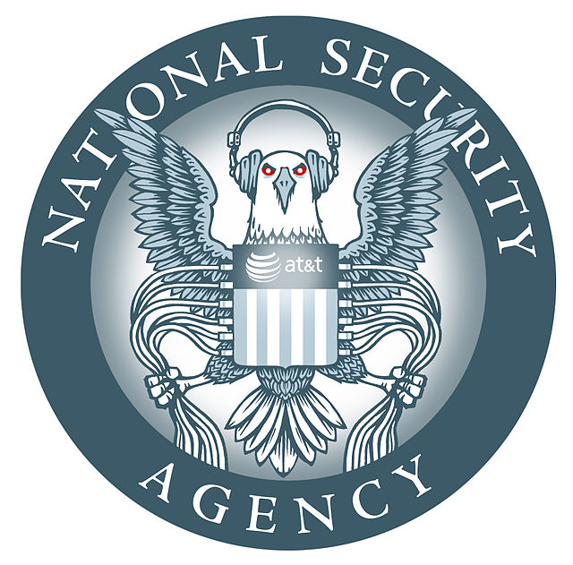 From commons.wikimedia.org: EFF version of NSA logo {MID-72529}