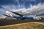 EGLF - Boeing 747 - Cargo Logic Air - G-CLAB (29650612378).jpg