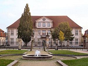Princess Pauline of Anhalt-Bernburg - The Lippehof in Lemgo, now the Engelbert Kaempfer-Gymnasium
