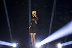 Sanna Nielsen - Sanna Nielsen performing at Eurovision 2014