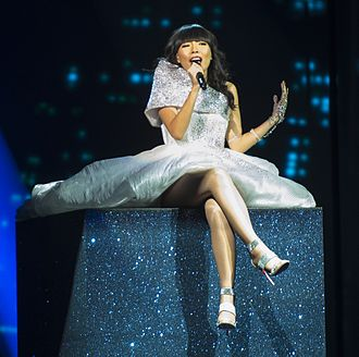 Dami Im - Dami Im during a rehearsal before the second semi-final