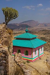 Abuna Aregawi Ethiopian Orthodox saint