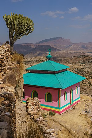 Church in Debre Damo
