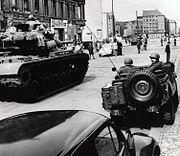 EUCOM Checkpoint Charlie Standoff 1961