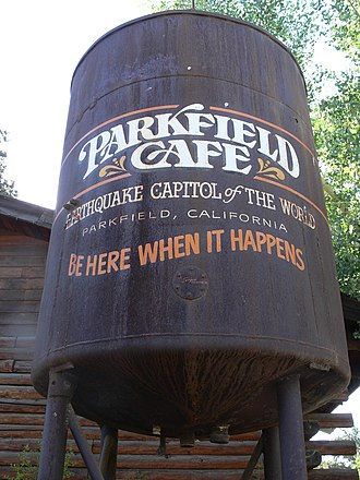 Parkfield, California - Parkfield Cafe