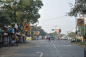 E.M. Bypass - E M Bypass at Patuli Crossing
