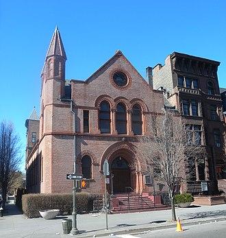 Lenox Avenue - Image: Ebenezer Gospel Tabernacle Lenox Av jeh