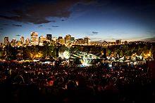 Edmonton Folk Music Festival.