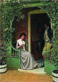 Edmund Blair Leighton - A quiet moment.jpg