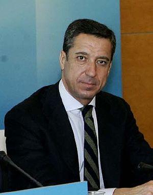 Eduardo Zaplana - Image: Eduardo Zaplana (Conferencia Politica sobre Modelo de Estado, Madrid, noviembre de 2007)
