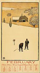 February (Golf Calendar)
