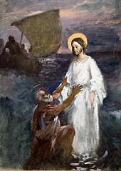 Christ Walks on Water