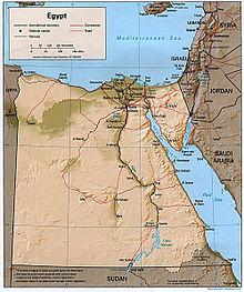 Outline Of Egypt Wikipedia - Map of egypt blank