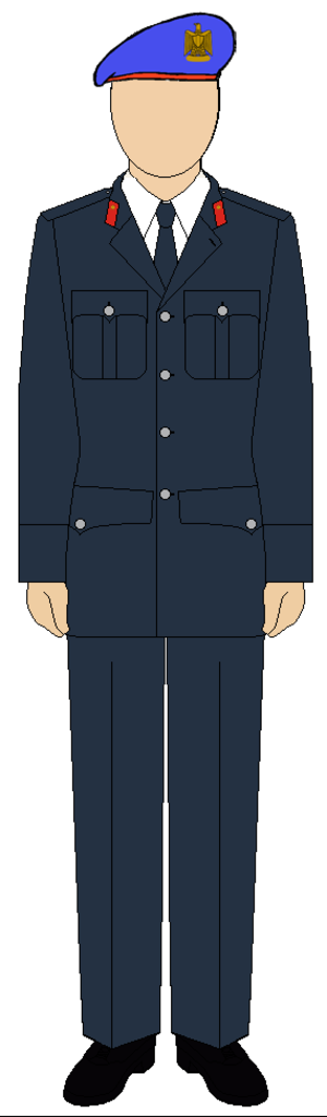 Republican Guard (Egypt) - Egyptian Republican guard suit