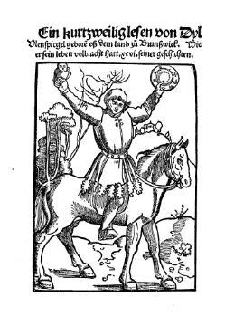 """Attēlu rezultāti vaicājumam """"Ein kurtzweilig Lesen von Dyl Ulenspiegel, geboren uß dem Land zu Brunßwick, wie er sein leben volbracht hat"""""""