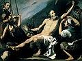 El martirio de San Bartolomé, copia de un original de José de Ribera (Real Academia de Bellas Artes de San Fernando).jpg