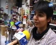Reportatge de Televisió de Cardedeu sobre la posada en funcionament de la moneda a Catalunya.