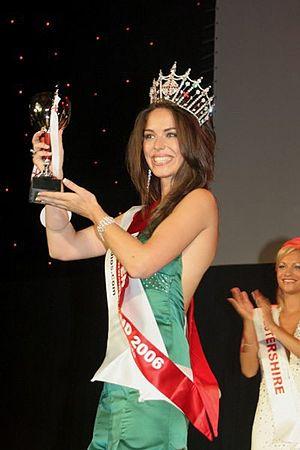 Eleanor Glynn - Glynn at Miss England 2006