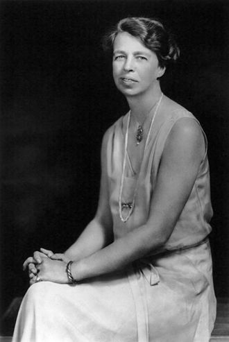 WAVES - Eleanor Roosevelt, wife of President Franklin D. Roosevelt (1932)