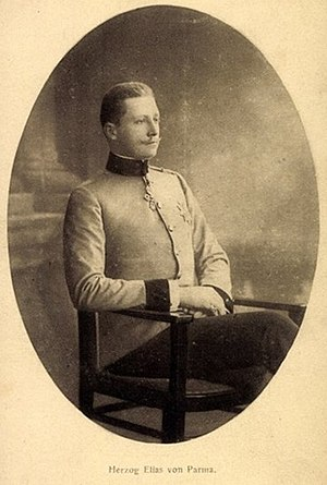 Pretenders to the throne of Parma - Image: Elias von Parma Postkarte 1910
