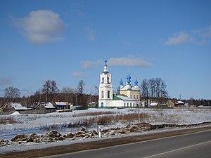 Ivanovsky District, Ivanovo Oblast - Elijah church-Bibirevo-Ivanovo, Ivanovsky District