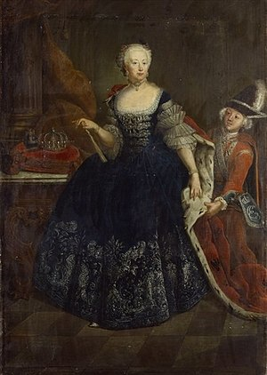 Elisabeth Christine of Brunswick-Wolfenbüttel-Bevern - Elisabeth Christine as queen