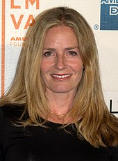 Elizabeth Shue shown smiling at the camera